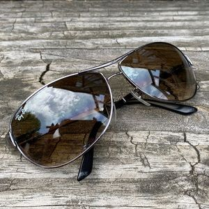 Ray Ban Polarized RB 3342 Warrior Sunglasses